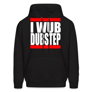 I Wub Dubstep Men's Hooded Sweatshirt - Men's Hoodie