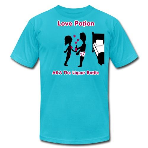 Love Potion - AKA The Liquor Bottle - Men's T-Shirt - Men's Fine Jersey T-Shirt