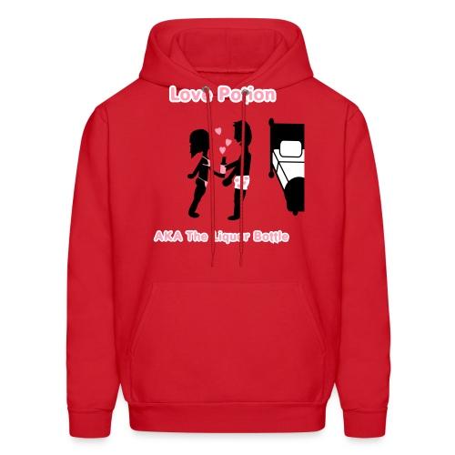 Love Potion - AKA The Liquor Bottle - Men's Hoody - Men's Hoodie