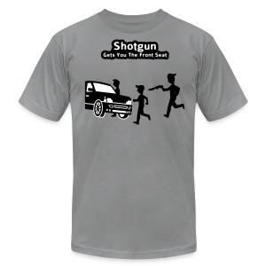Shotgun - Gets You The Front Seat - Men's T-Shirt - Men's Fine Jersey T-Shirt