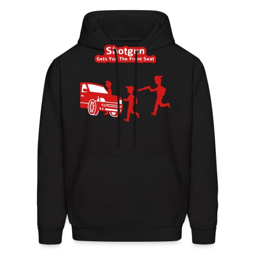 Shotgun - Gets You The Front Seat - Men's Hoody - Men's Hoodie