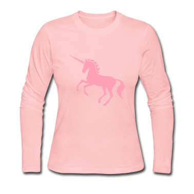Pink Unicorn Long Sleeve Shirts