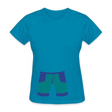 pair of childs pants shorts Women's T-Shirts