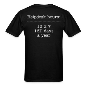 Hours of Operation - Men's T-Shirt