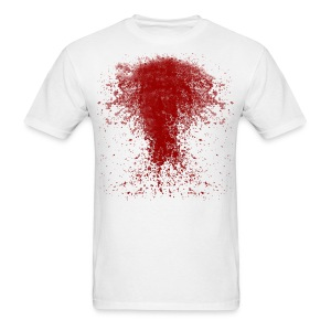 BLOODY ZOMBIE SPLATTER T-SHIRT - HALLOWEEN SALE $12.99 - Men's T-Shirt