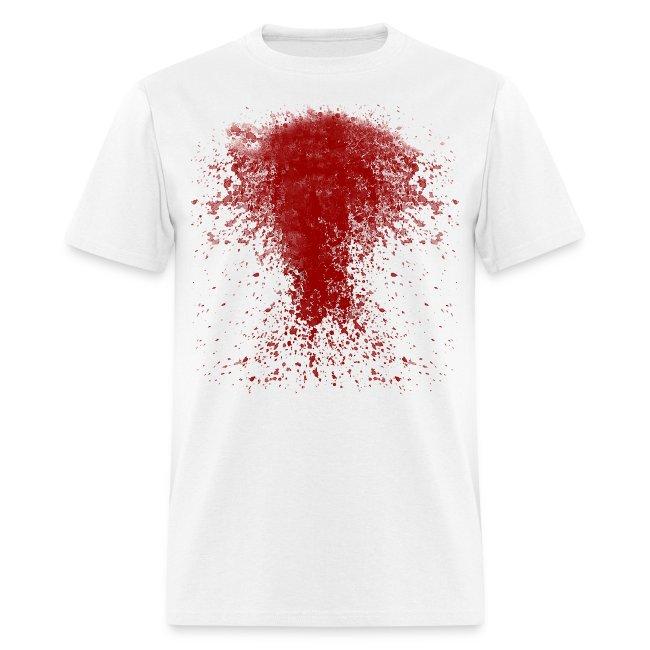 BLOODY ZOMBIE SPLATTER T-SHIRT - HALLOWEEN SALE $12.99