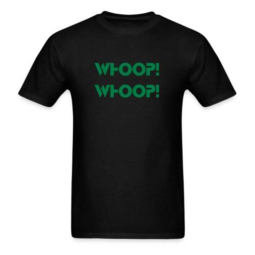 Whoop T Whoop - Black/Green Men - Men's T-Shirt