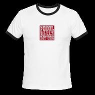 T-Shirts ~ Men's Ringer T-Shirt ~ PhoulBallz Mens ringer T