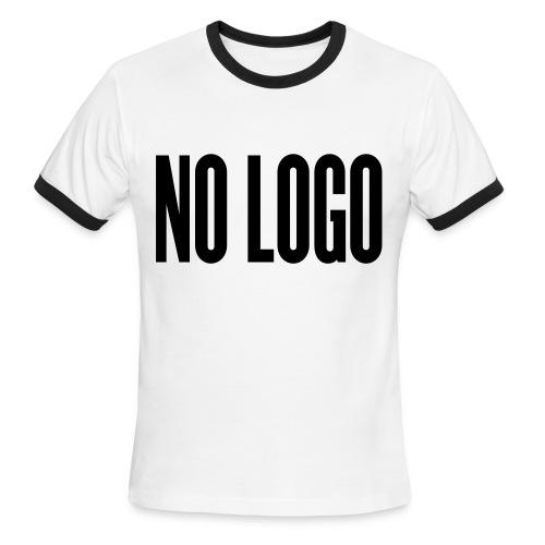 NO LOGO T-Shirt - Men's Ringer T-Shirt