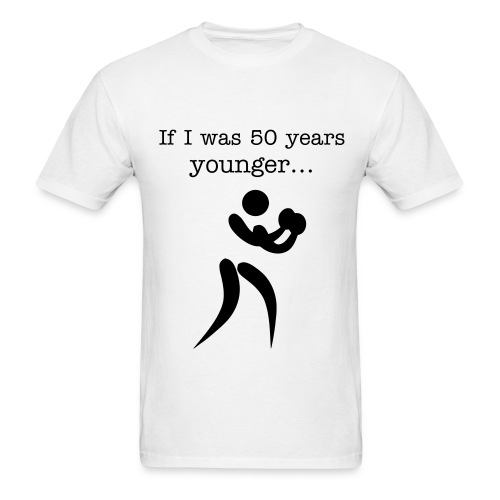50 Years Younger 1B - Men's T-Shirt