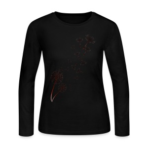 Dandelion - Women's Long Sleeve Jersey T-Shirt