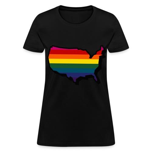 Queer America - Women's T-Shirt