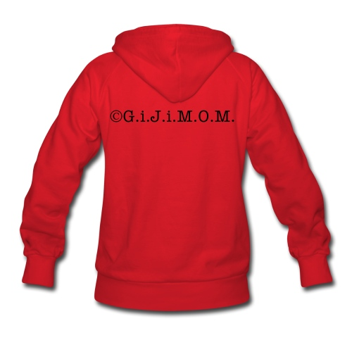 ©G.i.J.i.M.O.M. 1st T.E.A.M. Force Women's Hooded SweatShirt - Women's Hoodie