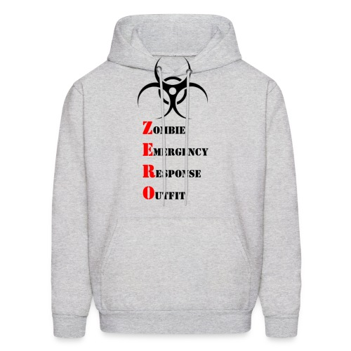 Zombie Emergency Response Outfit - Men's Hoodie