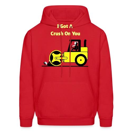 I Got A Crush On You - Steam Roller Girl - Men's T-Shirt - Men's Hoodie