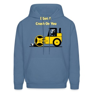 I Got A Crush On You - Steam Roller Girl - Men's T-Shirt - Men's Hoodie