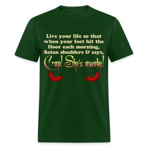 Satan Shudders - Men's T-Shirt