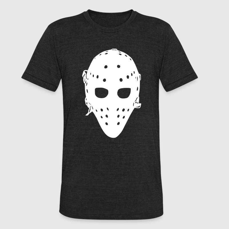 Vintage hockey goalie mask t shirt spreadshirt for Retro nhl t shirts