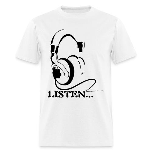 Listen To Your AirFlow - Men's T-Shirt