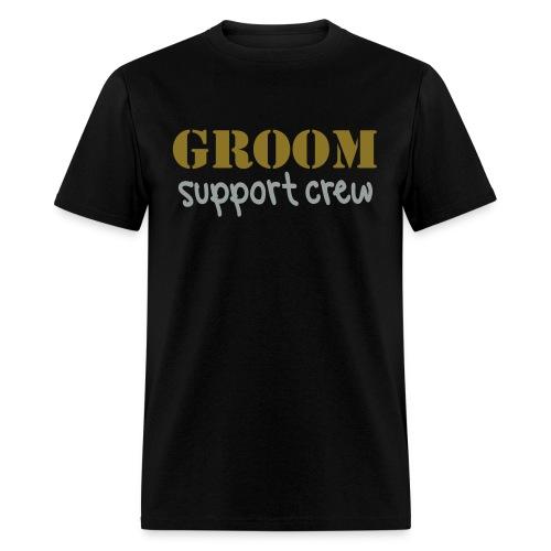 Skin City Strippers Groom Support Crew Shirt - Men's T-Shirt