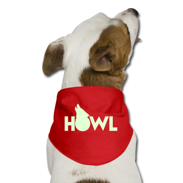 moon wolf HOWL Dog T-Shirts