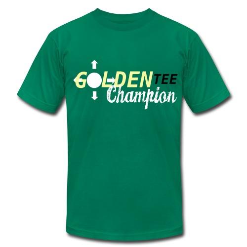 Golden Tee Champion - Men's Fine Jersey T-Shirt