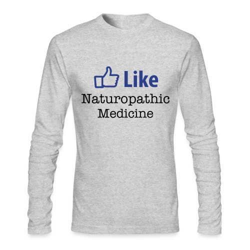 Like Naturopathic Medicine - Men's Long Sleeve T - Men's Long Sleeve T-Shirt by Next Level