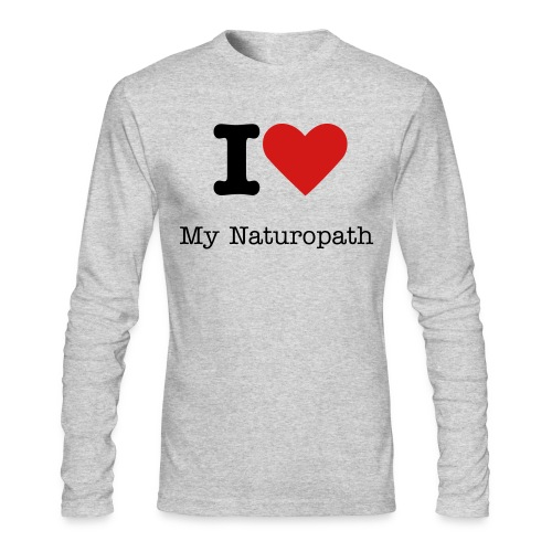 I Love My Naturopath - Men's Long Sleeve T - Men's Long Sleeve T-Shirt by Next Level