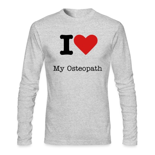 I Love My Osteopath Men's Long Sleeve T - Men's Long Sleeve T-Shirt by Next Level