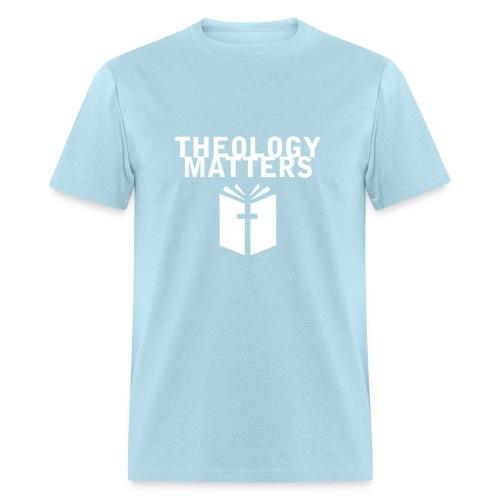 Theology Matters BABY BLUE - Men's T-Shirt