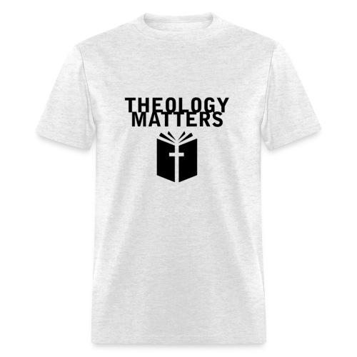 Theology Matters GRAY - Men's T-Shirt