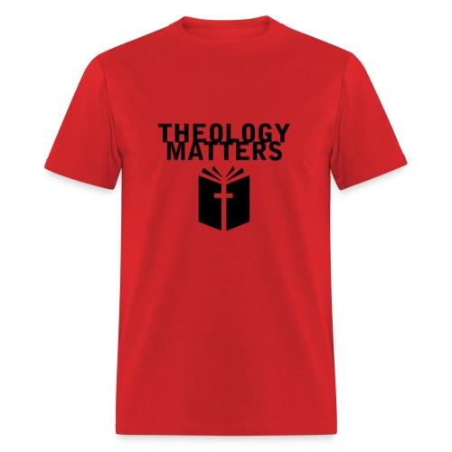 Theology Matters RED - Men's T-Shirt
