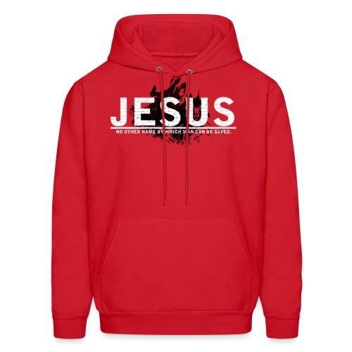 JESUS HOOD red - Men's Hoodie