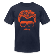 T-Shirts ~ Men's T-Shirt by American Apparel ~ DITKA - BLUE