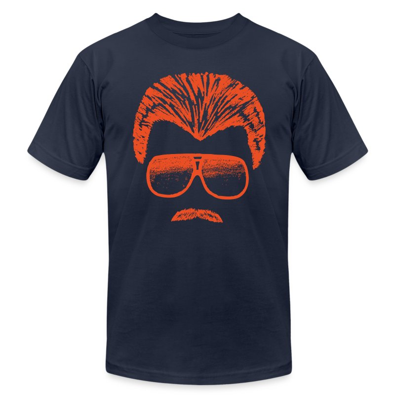 DITKA - BLUE - Men's T-Shirt by American Apparel