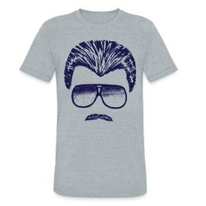 DITKA - HEATHER - Unisex Tri-Blend T-Shirt by American Apparel