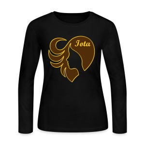 Iota Sweetheart:  LoveHer - Women's Long Sleeve Jersey T-Shirt