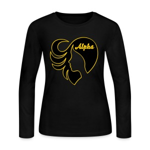 AAI:  LoveHer - Women's Long Sleeve Jersey T-Shirt