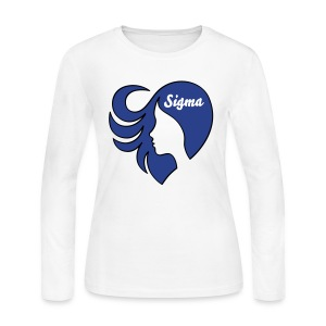 Sigma Dove:  LoveHer - Women's Long Sleeve Jersey T-Shirt