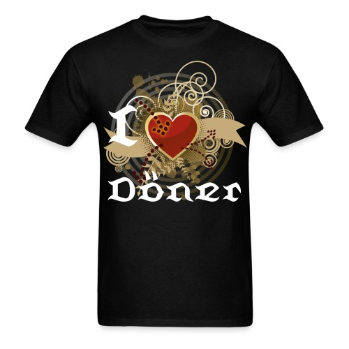 I love Döner - Men's T-Shirt