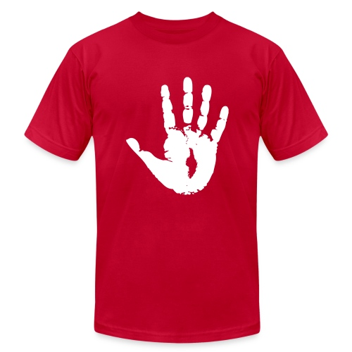 Jesus' Eternal Handprint - Men's Fine Jersey T-Shirt