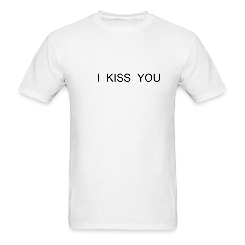 I kiss you - Men's T-Shirt