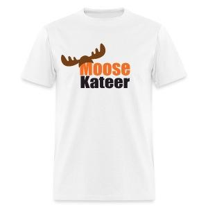 Moose-Kateer White - Men's T-Shirt