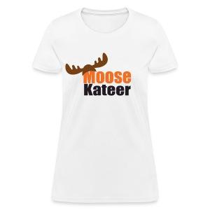 Moose-Kateer White - Women's T-Shirt
