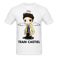 T-Shirts ~ Men's T-Shirt ~ Team Castiel White