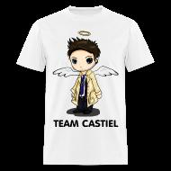 T-Shirts ~ Men's T-Shirt ~ Team Castiel White