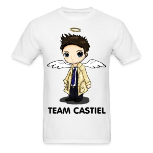 Team Castiel White - Men's T-Shirt