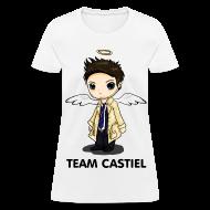 Women's T-Shirts ~ Women's T-Shirt ~ Team Castiel White