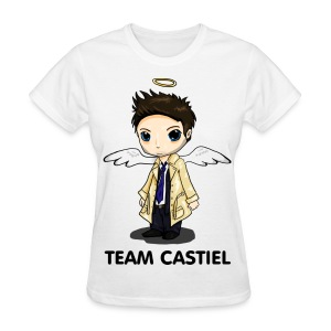 Team Castiel White - Women's T-Shirt