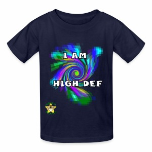 Monkey Pickles I am High Def - Kids' T-Shirt
